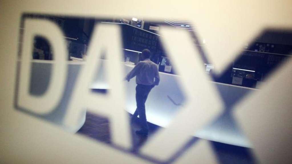 Aktien Frankfurt: Dax verstärkt Talfahrt wegen geopolitischer Sorgen