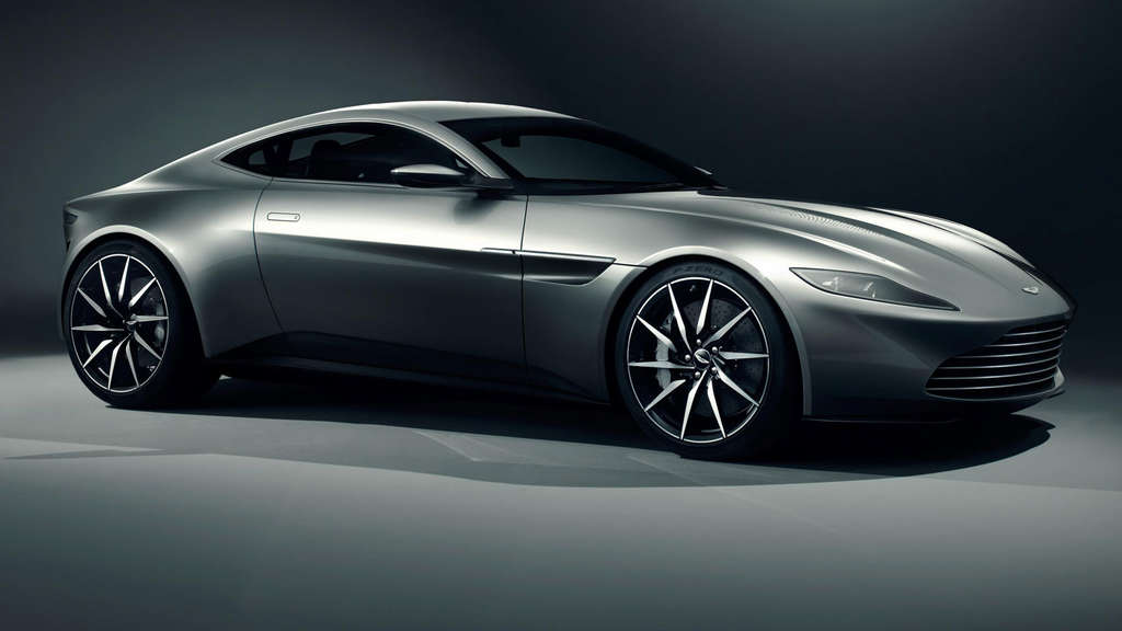 Neuer Aston Martin DB10 für James-Bond-Film