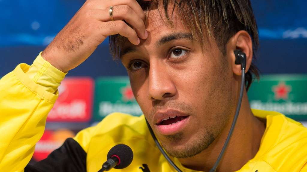 Premier-League-Klubs locken Dortmunds Aubameyang