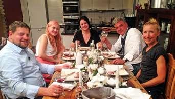 Cdu Chef Stefan Schaub Beim Perfekten Dinner Niddatal