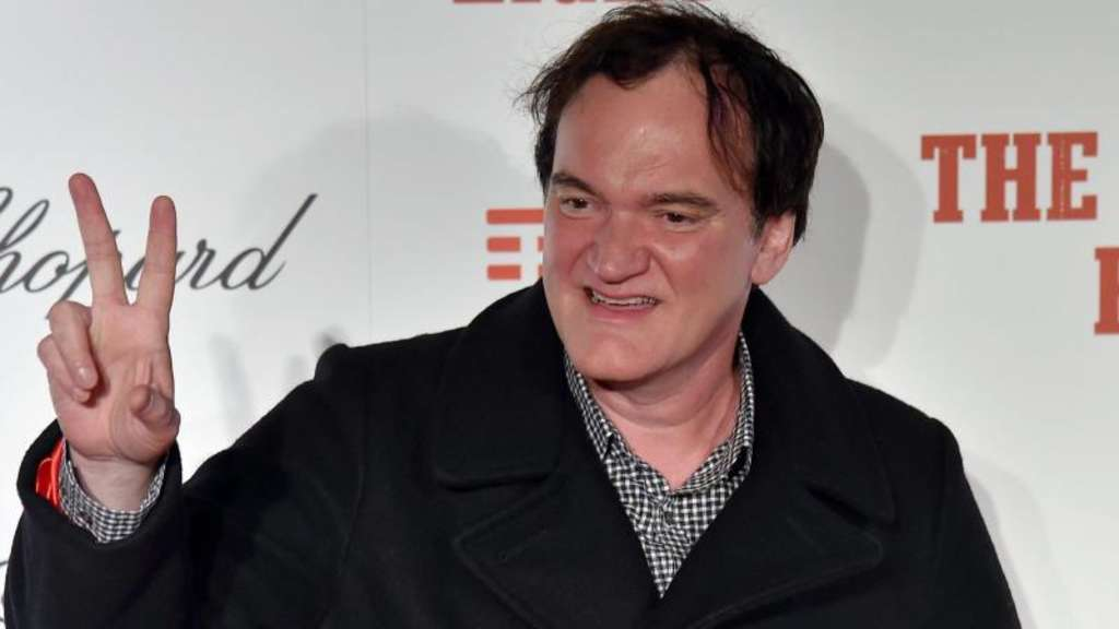 Quentin Tarantino bei der Premiere von 'The Hateful Eight' in Rom 2016.
