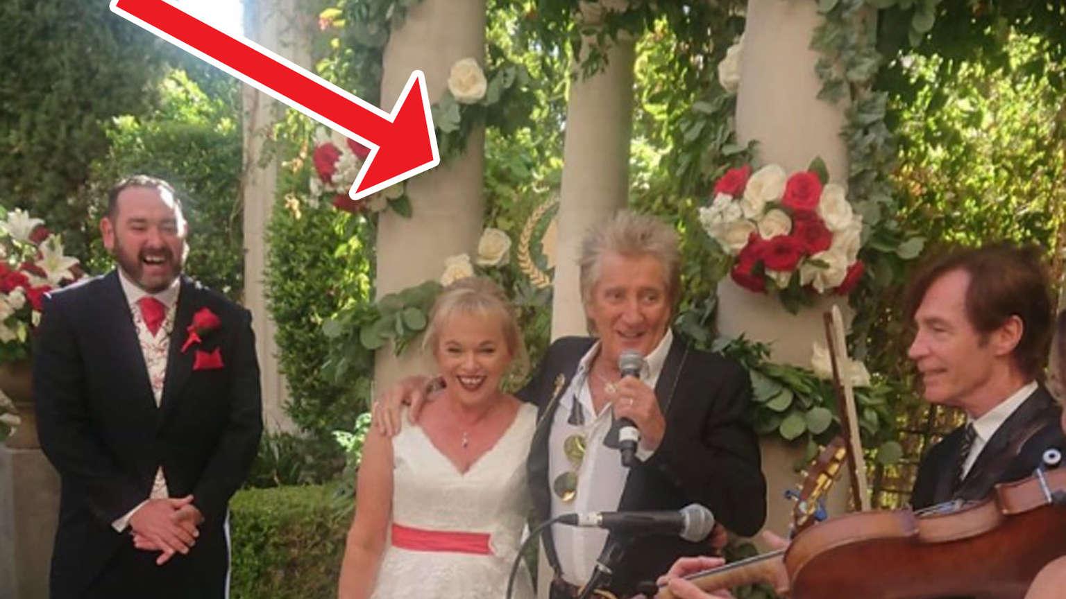 Weltstar erscheint auf Hochzeit - dann singt er für das