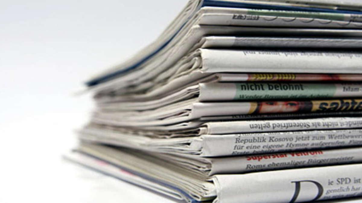 Zeitung Nicht Erhalten