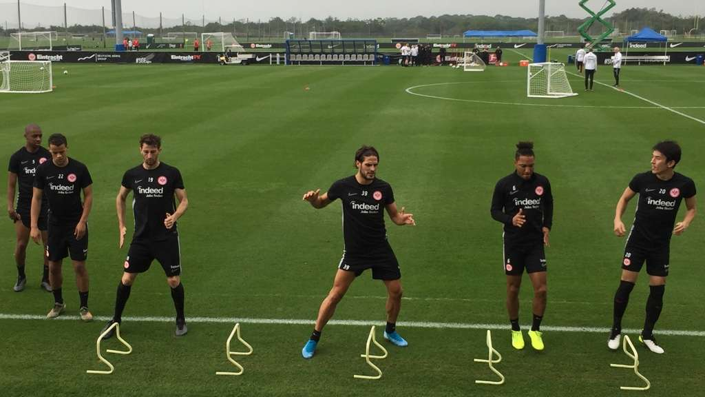 Das Trainingslager der Eintracht in Florida