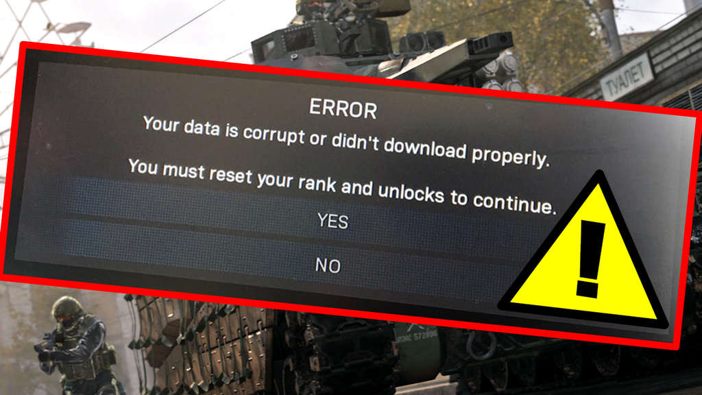 Rank-Reset nach Update Problem in Call of Duty Modern Warfare: Hier die Lösung