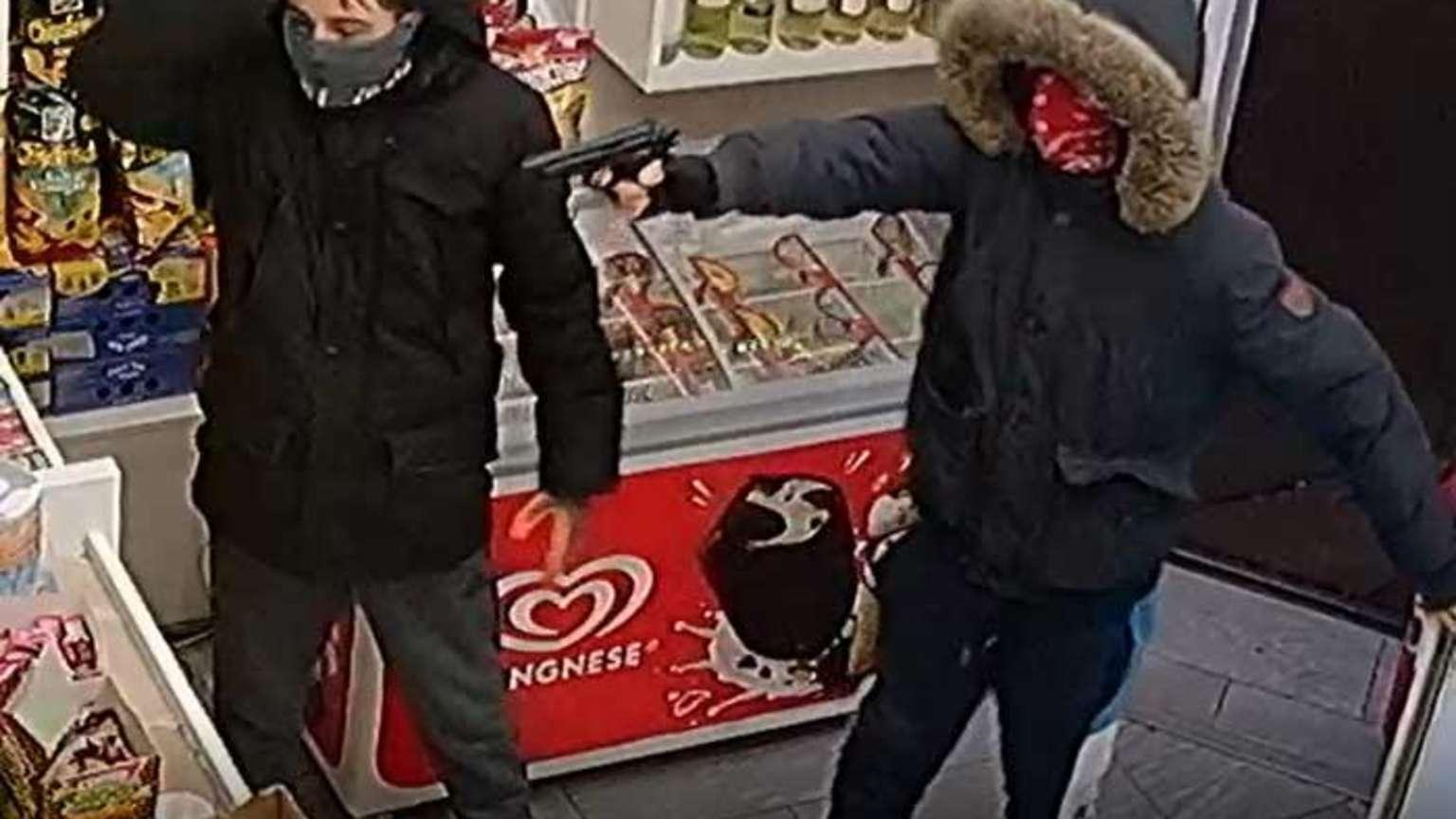 Frankfurt: Fahndung nach Überfall auf Kiosk - Die Polizei
