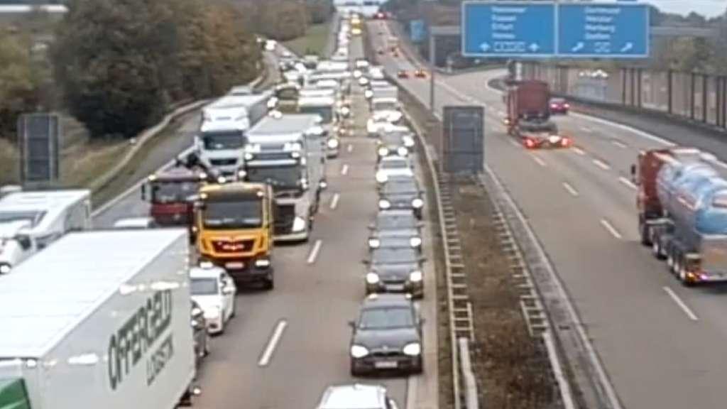 Verkehr Auf Der A5
