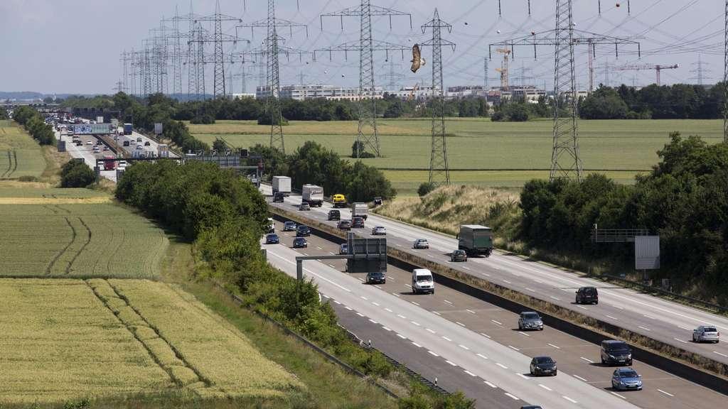 Verkehr Hessen A5