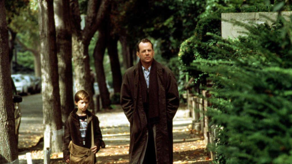 "Bruce Willis und Haley Joel Osmont in ""The Sixth Sense""."