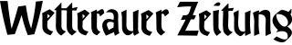 Logo Wetterauer Zeitung